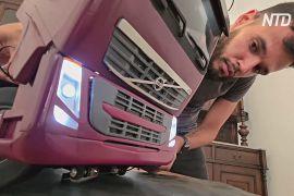 Кубинські майстри створюють макети авто й поїздів із будь-яких доступних матеріалів