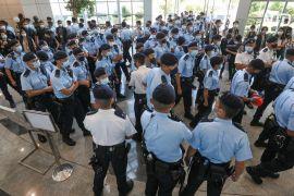 У Гонконзі заарештували п'ятьох директорів продемократичної газети Apple Daily