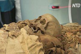 Міланські науковці вивчають мумію за допомогою комп'ютерної томографії