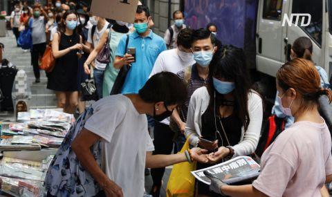 Гонконжці шикуються в довгі черги за останнім випуском Apple Daily