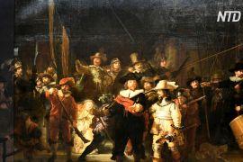 Рейксмузей відновив утрачені фрагменти «Нічної варти» Рембрандта