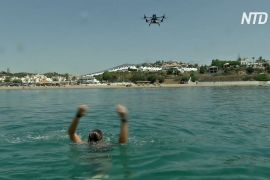 Дрони допомагають на пляжах іспанським рятувальникам
