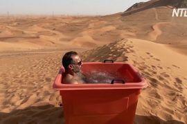 Крижана ванна: як зміцнюють імунітет у пустелі ОАЕ