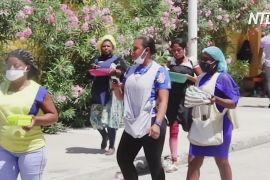 Бракує ліжок: на Гаїті новий спалах коронавірусу