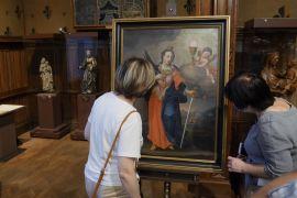 Україні подарували картину XVIII століття «Свята Варвара»