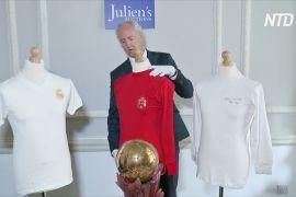 Колекцію трофеїв легендарного футболіста Альфредо Ді Стефано виставлять на аукціон