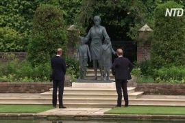 Принци Вільям і Гаррі відкрили статую принцеси Діани в Лондоні