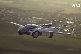 Словацький аеромобіль здійснив перший міжміський політ у тестовому режимі