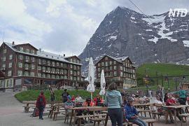 Швейцарія сподівається на європейських туристів через відсутність азійських