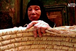 Плетіння з пальмового листя дає змогу єгипетському селу добре заробляти