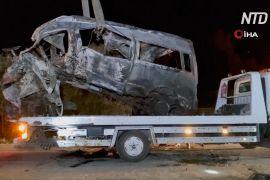ДТП у Туреччині: розбився мікроавтобус із мігрантами