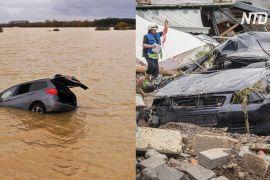 Щонайменше 48 загиблих: Європу затоплюють небувалі зливи