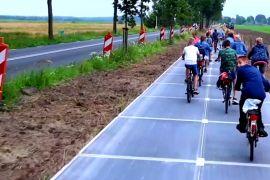 У Нідерландах відкрили найдовшу велодоріжку із сонячних панелей