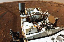 Планетохід «Наполегливість» почав шукати сліди життя на Марсі