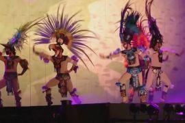 Унікальне ацтекське шоу: танці під місяцем