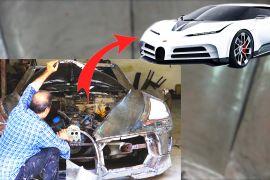 Іранець самотужки створює копію гіперкара «Bugatti»