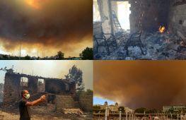 Четверо загиблих: пожежі в Туреччині підбираються до готелів і житлових будинків