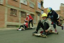 У високогірному Ла-Пасі проходять перегони на саморобних картах