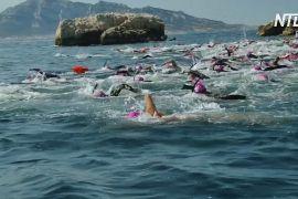 У Франції проходить заплив у стилі графа Монте-Крісто