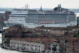 Круїзні лайнери перестали заходити до лагуни Венеції