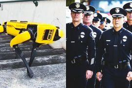 Робопси почали служити в поліції Гаваїв