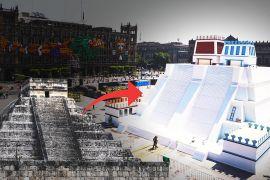 Копія піраміди «Темпло Майор» постала в центрі Мехіко