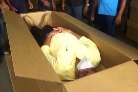 На Шрі-Ланці через зростання смертності від COVID-19 почали робити картонні труни