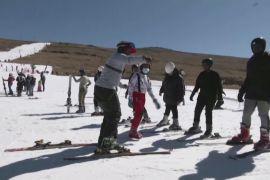 Лижі в Африці: сніг Лесото приваблює туристів