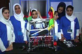 Як жіноча команда з робототехніки втекла від «Талібану»