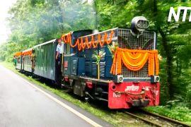 В Індії знову пустили «іграшкові» поїзди вузькоколійною залізницею