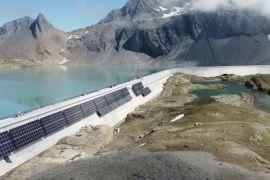 У Швейцарії будують високогірну сонячну електростанцію
