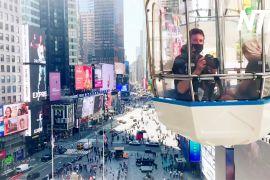 На Таймс-сквер уперше з'явилося колесо огляду