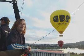 11-річний австралієць працює другим пілотом на повітряній кулі