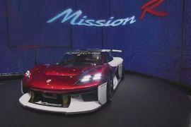 Автошоу в Мюнхені: «Porsche» показала електричний спорткар «Mission R»