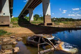 Через посуху в Бразилії висихають водосховища