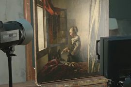 Меркель відкрила найбільшу в Німеччині виставку картин Яна Вермера