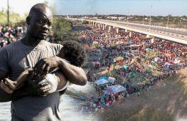 Тисячі гаїтян зібралися під мостом між США й Мексикою