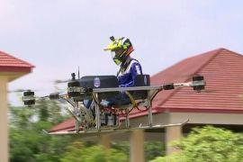 Аеротаксі й пожежний дрон: камбоджійські студенти проєктують безпілотники