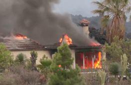 Лава вулкана Тенегія знищила близько 100 будинків
