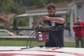 У Греції тестують дрон для доставляння ліків до віддалених районів