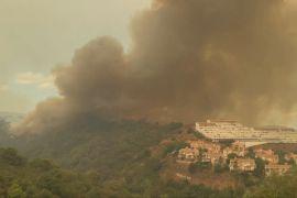 У пожежі в Іспанії загинув один вогнеборець