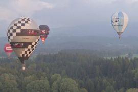 Аси повітроплавання зустрілися на фестивалі в Німеччині
