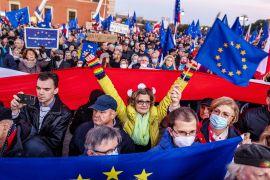 «Ми залишаємося»: у Польщі вийшли на протест
