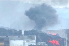 Вулкан спалив цементний завод