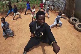 Угандієць популяризує кунг-фу в Африці