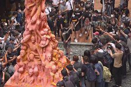 У Гонконзі хочуть знести монумент вшанування пам'яті вбитих у Пекіні у 89 році студентів