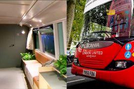 Лондонські автобуси перетворюють на пункти допомоги бездомним